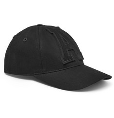 AMI Appliquéd Cotton-Twill Baseball Cap