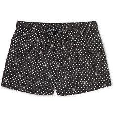 Dolce & Gabbana Slim-Fit Short-Length Printed Swim Shorts