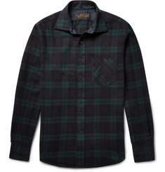Freemans Sporting Club - Hopkins Black Watch Checked Cotton-Flannel Shirt