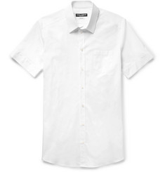 Dolce & Gabbana Slim-Fit Stretch-Cotton Poplin Shirt