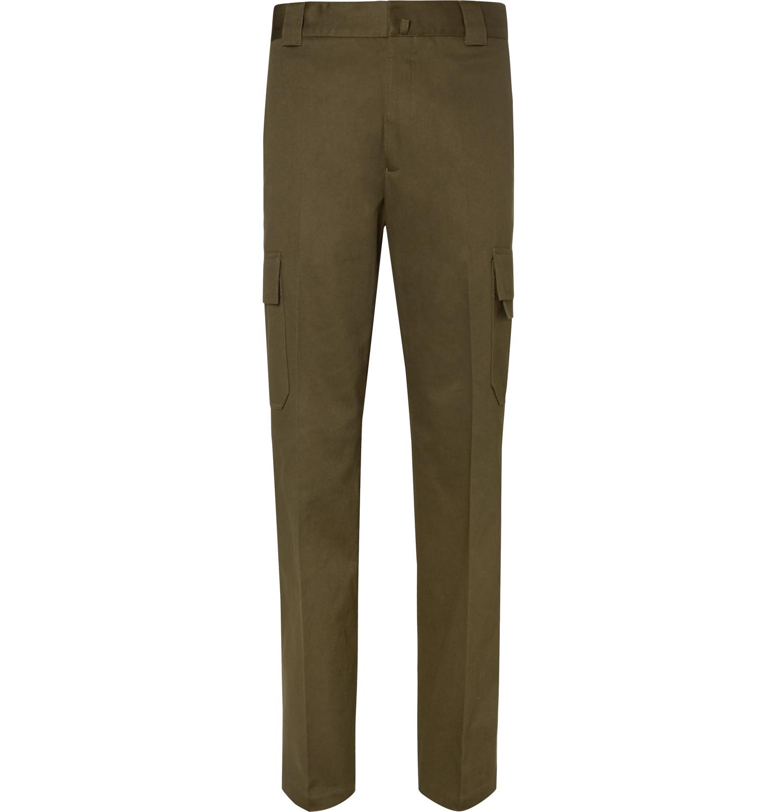 Cotton-twill Cargo Trousers Lanvin ylJ0PPU0