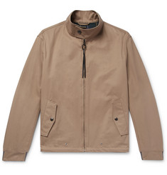 Lanvin Cotton-Twill Harrington Jacket