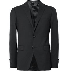 Lanvin Black Attitude Slim-Fit Super 110s Wool Suit
