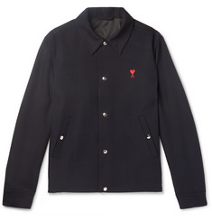 AMI - Embroidered Wool Jacket