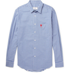 AMI Gingham Cotton Shirt