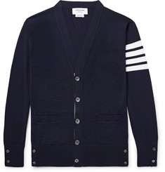 Thom Browne - Striped Wool Cardigan