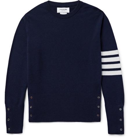 Thom Slim Sweater Browne Cashmere Fit Striped rn0BwrP1q