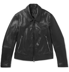 TOM FORD - Slim-Fit Leather Blouson Jacket