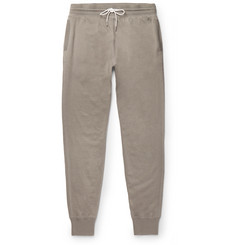 TOM FORD Tapered Cotton, Silk and Cashmere-Blend Sweatpants