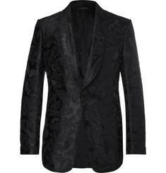 TOM FORD Shelton Slim-Fit Jacquard Tuxedo Jacket