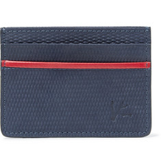 Isaia Textured-Suede Cardholder