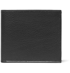 Maison Margiela Textured-Leather Billfold Wallet