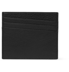 Maison Margiela Full-Grain Leather Cardholder