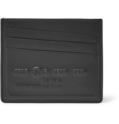 Maison Margiela Embossed Leather Cardholder