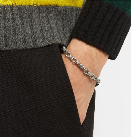 Sterling Silver Bracelet by Maison Margiela