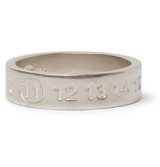 Maison Margiela - Engraved Sterling Silver Ring