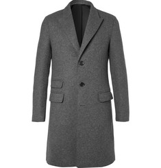 Neil Barrett Slim-Fit Felted Wool-Blend Coat