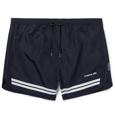 Neil Barrett - Short-Length Striped Swim Shorts