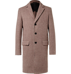 Mr P. - Houndstooth Virgin Wool Coat
