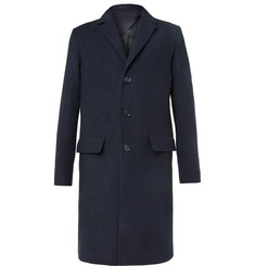 Mr P. Double-Faced Virgin-Wool Overcoat