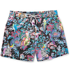 Etro - Ponza Mid-Length Printed Shell Swim Shorts
