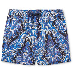 Etro - Ponza Mid-Length Printed Swim Shorts