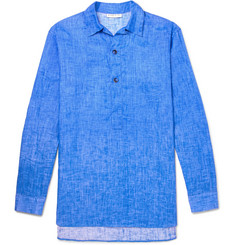Etro Washed Linen-Voile Shirt