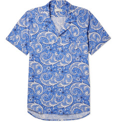 Etro - Camp-Collar Paisley-Print Cotton-Blend Shirt