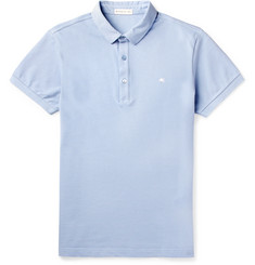 Etro - Cotton-Piqué Polo Shirt