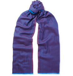Etro - Cashmere and Cotton-Blend Scarf