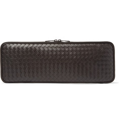 Bottega Veneta - Intrecciato Leather Zip-Around Tie Case