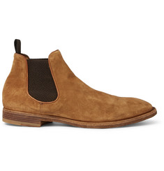 Officine Creative Princeton Suede Chelsea Boots