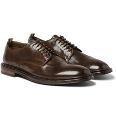 Officine Creative Cornell Polished-Leather Derby Shoes