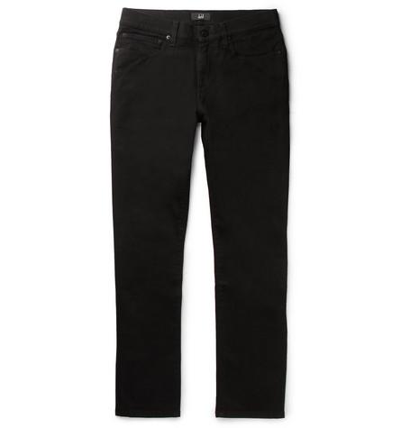 Dunhill Slim-fit Stretch-denim Jeans - Black