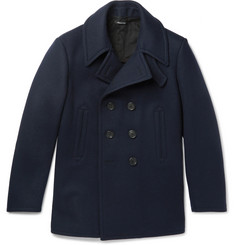 Dunhill - Double-Breasted Wool-Felt Peacoat