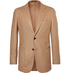Dunhill Camel Hair, Wool and Silk-Blend Blazer
