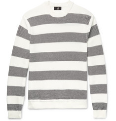 Dunhill Striped Cotton Sweater