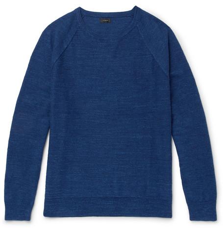 a4e60836d5e85d J.Crew - Mélange Cotton Sweater