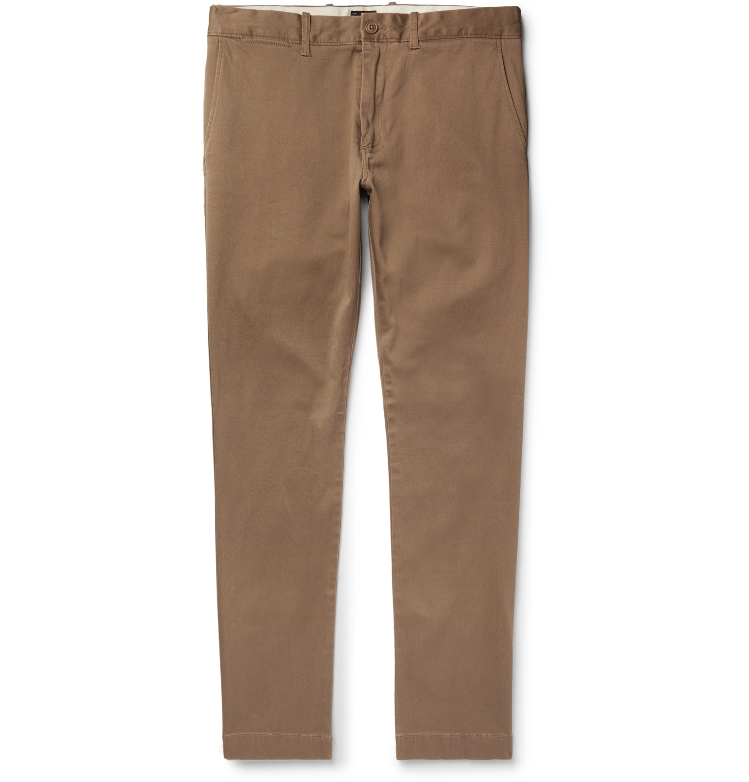 ad38898ee4ab J.Crew - 484 Slim-Fit Stretch-Cotton Twill Chinos