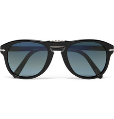 Persol Steve McQueen Folding D-Frame Acetate Polarised Sunglasses