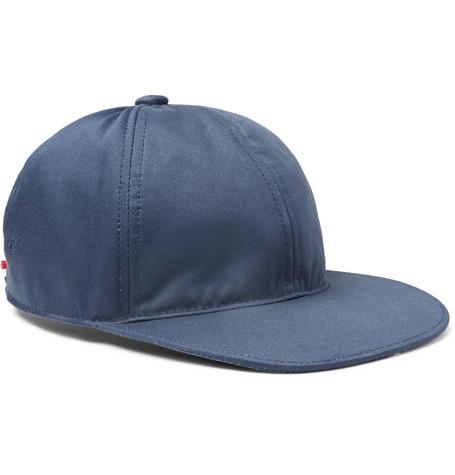 Grosgrain-trimmed Cotton-twill Baseball Cap Thom Browne n00xZ