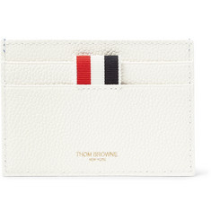 Thom Browne - Tennis Ball-Printed Pebble-Grain Leather Cardholder