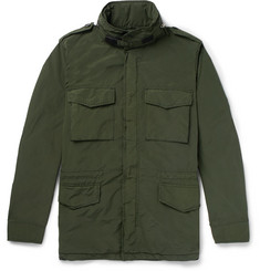 Aspesi Garment-Dyed Shell Field Jacket