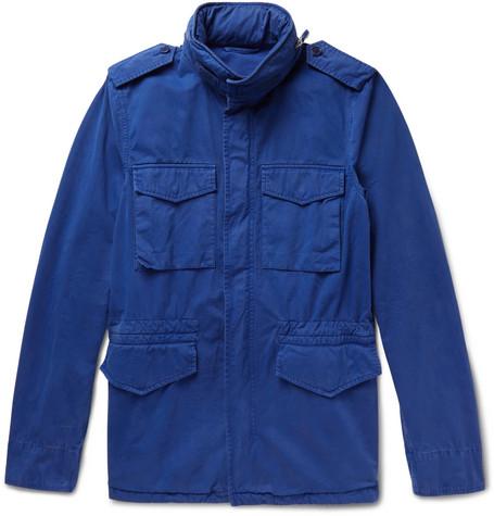 Jacket Aspesi Twill Field Brushed Cotton 1nOq80