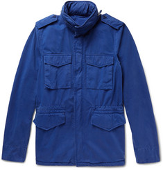 Aspesi Brushed Cotton-Twill Field Jacket