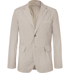 Aspesi Cream Slim-Fit Unstructured Cotton Blazer