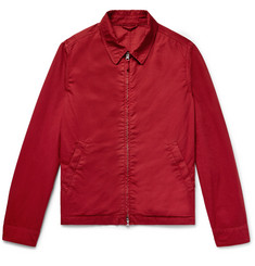 Aspesi Garment-Dyed Cotton-Twill Blouson Jacket