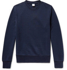 Aspesi Slim-Fit Loopback Cotton-Jersey Sweatshirt