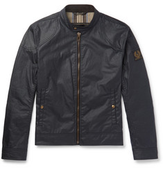 Belstaff Kelland Waxed-Cotton Blouson Jacket