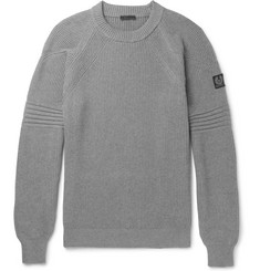 Belstaff Hurtstone Ribbed Cotton Sweater